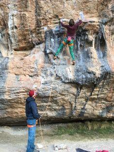 holyshamrocks:Climbing in Rodellar, sector Camino. Beautiful...