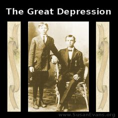 How to Teach the Great Depression: Hands-on Ideas - http://susanevans.org/blog/the-great-depression-summary/
