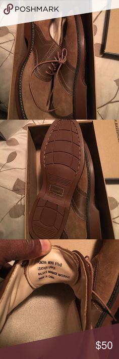 New brown saddle leather and suede shoes New brown saddle leather and suede shoes Bass Shoes Oxfords & Derbys