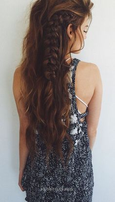 Look Over This Looking for pretty boho hairstyles ideas to change things up? Browse a full photo gallery to get some ideas to create your boho hairstyles. Pick yours!  The post  Lo ..