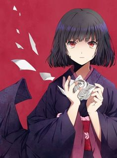 absurdres androgynous black_hair highres hunter_x_hunter japanese_clothes kalluto_zoldyck kimono red_eyes short_hair solo taccomm yukata Killua, Hisoka, Hunter X Hunter, Anime Black Hair, Anime Girl Short Hair, Anime Girl Kimono, Manga Girl, Anime Girls, Kalluto Zoldyck