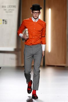 Ana Locking Fall/Winter 2012 collection featured great looks for the modern dandy. I Love Fashion, Fashion Show, Mens Fashion, Grown Man, Gentleman Style, Modern Man, Winter Collection, How To Look Better, Street Wear