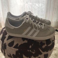 new arrival ce36c 1385a adidas Shoes   Adidas Gazelle Size 9 Women Size 7 Men   Color  Silver
