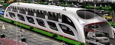 istanbulumuz için gerekli bir teknoloji. çinden gelen konsept tasarım geleceğin popüler bir teknolojisini öne çıkarıyor. arabaların üstünden geçebilen otobüs fikri nasıl? Çin'de Hızlı Otobüs Teknolojisi