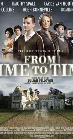 netflix movies Directed by Julian Fellowes. With Alex Etel, Timothy Spall, Maggie Smith, Christopher Villiers. A haunting ghost story spanning two worlds, more than a century apart. Good Movies On Netflix, Good Movies To Watch, Great Movies, Love Movie, Movie Tv, Movies Showing, Movies And Tv Shows, Elizabeth Gaskell, Period Drama Movies