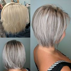 Layered Balayage Hair Especially women who don't have much time to style their hair must try it. Short layered haircuts look noteworthy. In the event that you are Short Straight Hair, Short Hair With Layers, Short Hair Cuts, Thick Hair, Short Layered Haircuts, Short Bob Hairstyles, Balayage Hair, Short Balayage, Hair Highlights