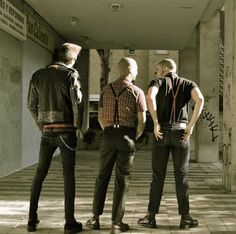 Punks and Skins with Solovair / Dr.Martens
