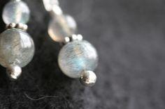 Labradorite earrings by Dartle on Etsy, $18.00