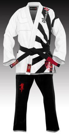 Hayabusa GSP Rising Sun BJJ Jiu Jitsu Gi. Mayhap one day I shall be coil enough to wear this.