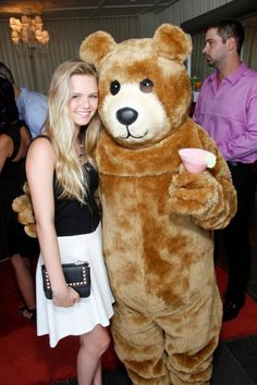 Brighid Fleming and BEAR BOTTOM CANDLES at Red Carpet Events LA Teen Choice Gifting Suite 2013