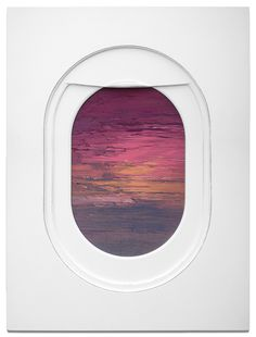 "wordsnquotes: "" culturenlifestyle: "" Beautiful Paintings of Airplane Windows Perspective as Frames Los Angeles-based artist and designer Jim Darling developed a new found love for scenes seen from the airplane window while working on an art show that. Airplane Window, A Level Art, Window Art, Gcse Art, New Travel, Painting Frames, Portrait, Landscape Paintings, Oil Paintings"