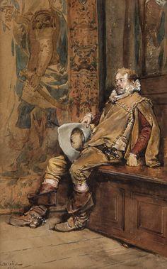 Seated Cavalier