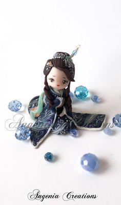 maiko statuette by AngeniaC.deviantart.com on @deviantART