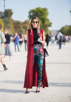 ❤ #street #fashion #snap from  Paris Fashion Week.