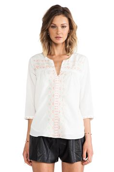 MM Couture by Miss Me Beaded Blouse in White #REVOLVEclothing