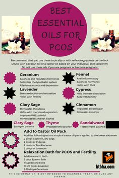 Best Essential Oils For PCOS Natural ways to reduce PCOS symptoms. Plant sourced supplemets for PCOS What Are Essential Oils, Essential Oil Uses, Young Living Essential Oils, Autogenic Training, Alternative Heilmethoden, Alternative Health, Pcos Fertility, Fertility Doctor, Reflexology Points
