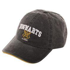 a50aff3ee102d Harry Potter Hogwarts Alumni Adjustable Hat Faded Wash H Crest OFFICIAL  LICENSED  Bioworld  BaseballCapDadHat