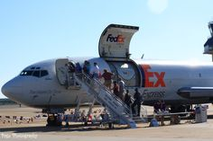 """FedEx ask? """" we got room""""? Cargo Aircraft, Boeing 727, Cargo Airlines, Airports, Airplanes, Alaska, Fighter Jets, Hawaii, Studios"""