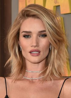 RHW has the perfect cut, color, and style. I WISH my hair looked like this every day!