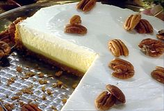 Paula Deen's Cheesecake with Praline Sauce. This is my go-to cheesecake recipe. Good with or without the praline sauce.
