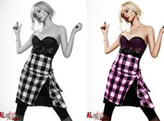 This is Avril Lavigne... colored..