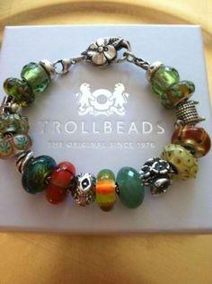Authentic Troll/Trollbeads Bracelet Complete    eBay
