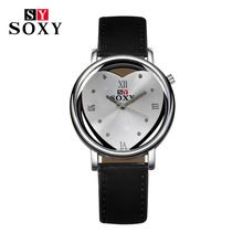 2016 Hot Sell Brand SOXY Leather strap Wrist Watch Simple Style women quartz watches fashion love heart design ladies watch //Price: $US $2.74 & FREE Shipping //      SOXY--Bring you good cost performance products      Main Features:High quality quartz watch is popular.      100% brand new.      Your best choice for everyone as a gift.      Fashionable, very charming for all occasions.      Special dial design draws much attention from buyers.      Amazing looking watch.      Precise…