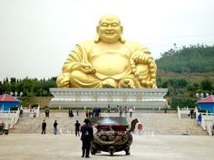 Famous Buddha statue in Mile county, Honghe, China.