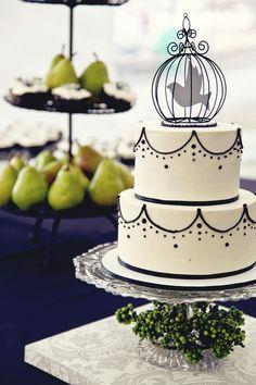 very cute birdcage cake