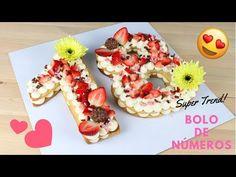 Bolo em Forma de Números | Como Fazer Bolo em forma de Números | Cakepedia - YouTube