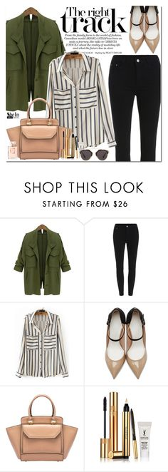 """Shein"" by oshint ❤ liked on Polyvore featuring WithChic, Maison Margiela, Yves Saint Laurent, Christian Dior, women's clothing, women, female, woman, misses and juniors"