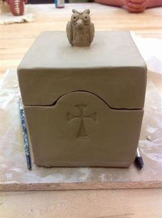 Image result for Slab Pottery Boxes