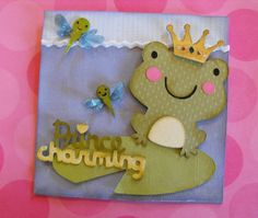My Craft Spot: Create a Critter - Prince Charming Frog