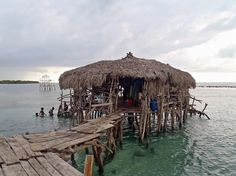 Floyd's Pelican Bar - Negril - you take a boat to the resturant for fresh seafood. drinks are decent prices and the boat ride is usually around 25 dollars a couple. befinatly bucket list worthy.