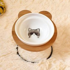 New High-end Pet Bowl Bamboo Shelf Ceramic Feeding and Drinking Bowls for Dogs and Cats Pet Feeder Accessories Unicorn Party Supplies, Baby Shower Party Supplies, Bamboo Shelf, Pet Bowls, Pet Feeder, Halloween Sale, Dog Feeding, Dog Breeds, Your Pet