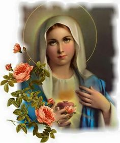 This article is about The Mother of Jesus. Mary will be discussed in this hub. Hopefully, I will include something in this hub that is unique that maybe you didn't know about Mary and even Jesus. Madonna, Blessed Mother Mary, Blessed Virgin Mary, Religious Pictures, Religious Art, Immaculée Conception, Jesus E Maria, Christian Artwork, Queen Of Heaven