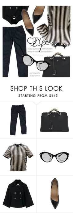 """City Life"" by reebonz ❤ liked on Polyvore featuring Chloé and black"