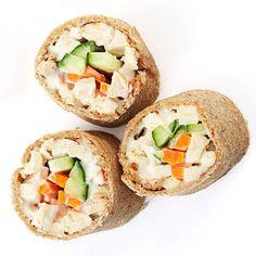 Chicken Salad Sushi Rolls