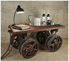 Beistelltisch Fernsehtisch Couchtisch Industrial Sideboard Barwagen Loft Lor Vintage Industrial Furniture Industrial Furniture Diy Industrial Furniture