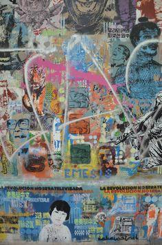 Stencil Graffiti in Palermo - Buenos Aires, Argentina