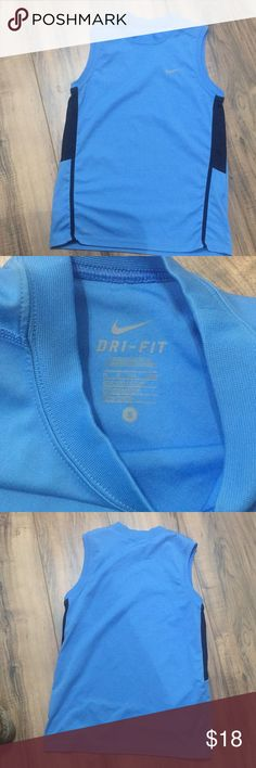 NWOT Nike sleeveless shirt Sz S NWOT Nike sleeveless shirt Sz S. No rips stains or defects. Check out my closet for other items and bundle for extra savings!! Nike Shirts & Tops Tank Tops