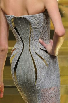 Versace Spring 2012 Couture Detail