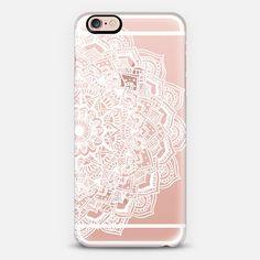 White Lace Mandala by Laurel Mae | Casetify.com