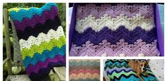 This stunning Kid Blanket Free Crochet Pattern is a cool and comfy afghan. Its vibrant design will give a dash of color to any room. Crochet Butterfly Free Pattern, Crochet Bikini Pattern, Afghan Crochet Patterns, Crochet Afghans, Crochet Stitches, Unique Crochet, Cute Crochet, Crochet For Kids, Crochet Baby