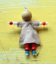 Cart Before The Horse: Easy Peasy Bead People