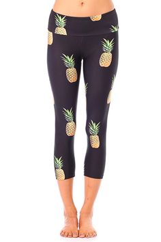 Ain't no party like a pineapple party!! We are totally gaga over these awesome Pineapple Party Leggings from Gold Sheep! Available now at evolvefitwear.com!