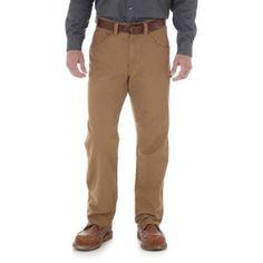 Wrangler Men's Workwear Utility Jean, Size: 38 x 29, Brown