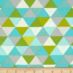 Moda Bartholo-Meow's Reef Bounty Glacier/Briny from @fabricdotcom  Designed by Tim and Beck for Moda, this cotton print is perfect for quilting, apparel and home decor accents.  Colors include grey, shades of lime and shades of blue.