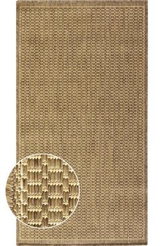 Saddlestitch All-Weather Area Rug - Outdoor Rugs - Contemporary Rugs - Rugs   HomeDecorators.com