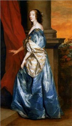 Lady Lucy Percy, by Sir Anthony Van Dyck (1599-1641)